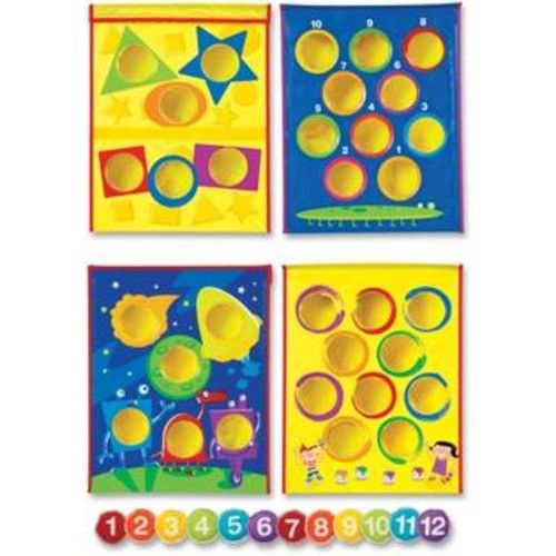 Learning Resources LRNLER1047 Smart Toss Bean Bag Tossing Game