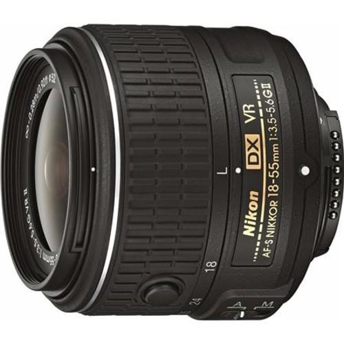 Nikon 18-55mm f/3.5-5.6G AF-S DX NIKKOR VR II Lens - Nikon USA Warranty 2211