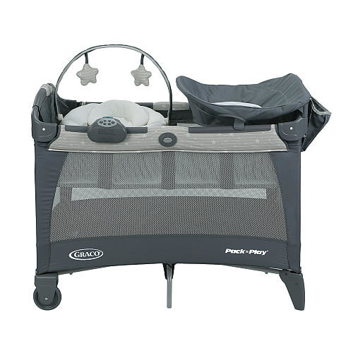 Graco Pack 'n Play Playard With Newborn Napper Station LX & Changing Table - Stars