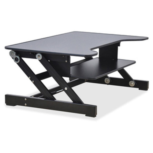 Ergotron WorkFit-T, Sit-Stand Desktop Workstation (Black) [Ergotron WorkFit-T, Sit-Stand Desktop Workstation Black]