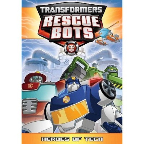 Transformers Rescue Bots: Heroes of Tech DVD