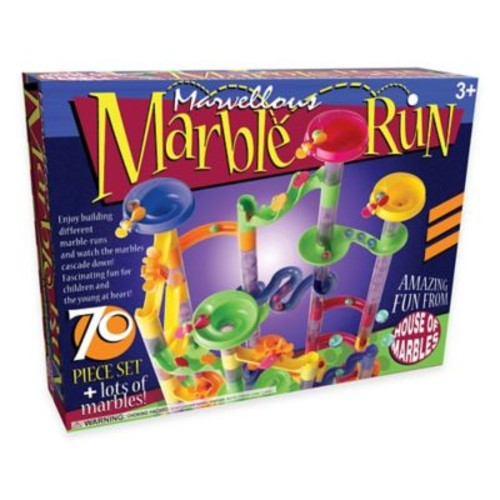 70-Piece Marvelous Marble Run Set