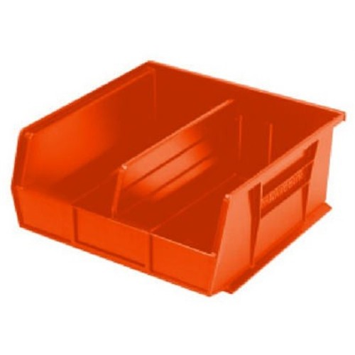 Akro-Mils 30220 Plastic Storage Stacking Hanging Akro Bin, 7-Inch by 4-Inch by 3-Inch, Red, Case of 24 [Red]