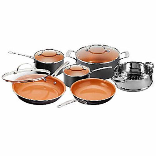 Gotham Steel 10-pc. Aluminum Non-Stick Cookware Set
