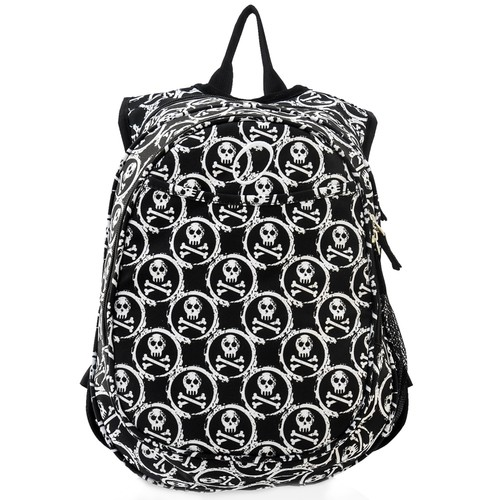 Obersee Kids Pre-School All-In-One Skulls Backpack With Cooler