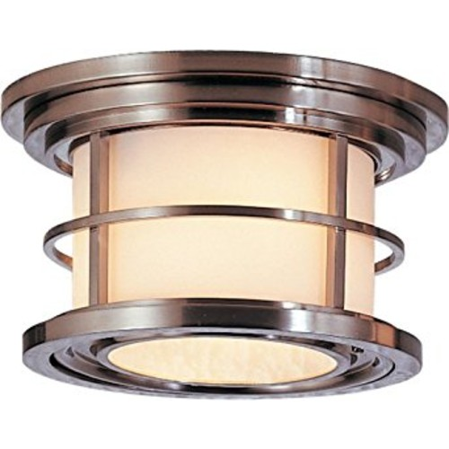 Feiss Two Light Ceiling Fixture Murray OL2213BS [Brushed Steel]