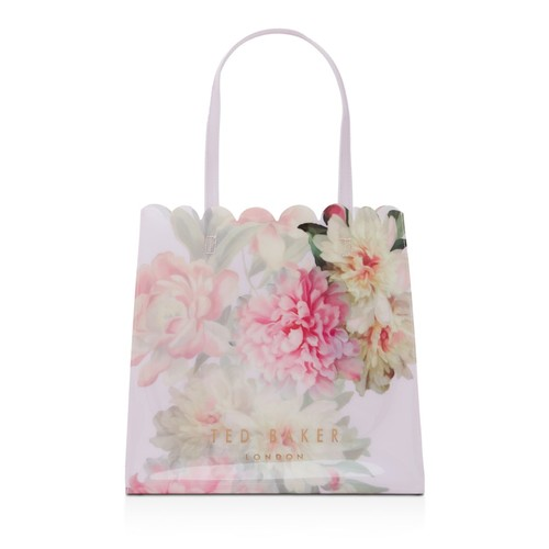 TED BAKER Painted Posie Icon Large Tote