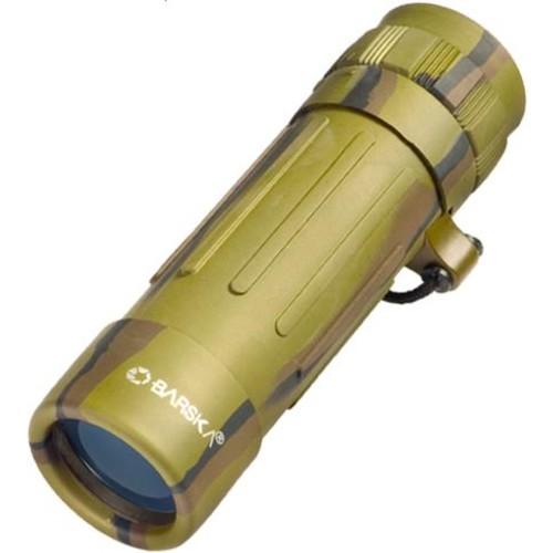Barska Lucid View 10x25 Camo Monocular Blue Lens