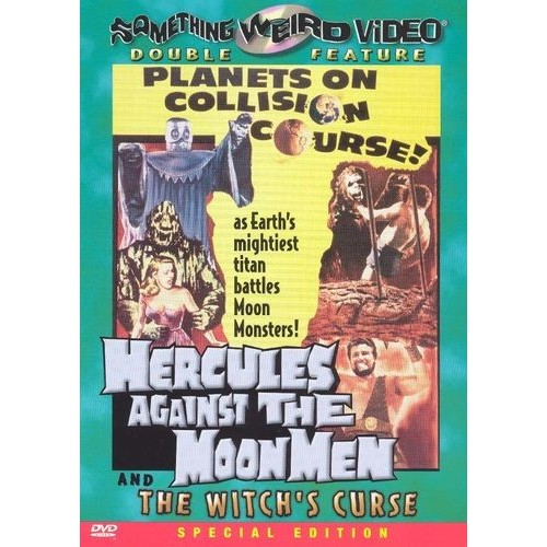 Hercules Against the Moon Men/The Witch's Curse [DVD]
