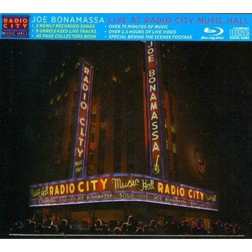 Live at Radio City Music Hall [CD/BR] [CD]