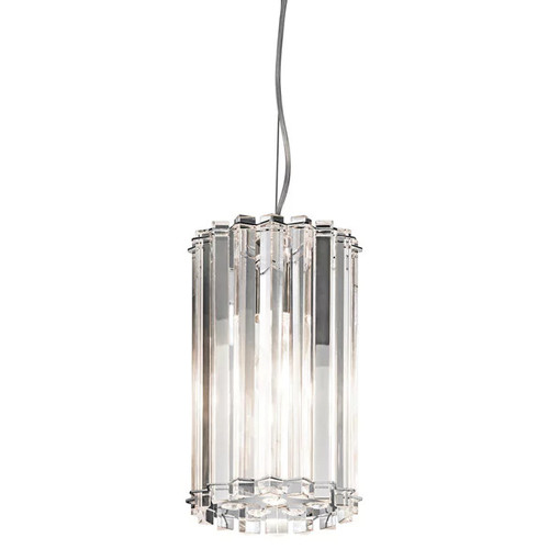 Kichler Lighting Crystal Skye Collection 1-light Chrome Mini Pendant
