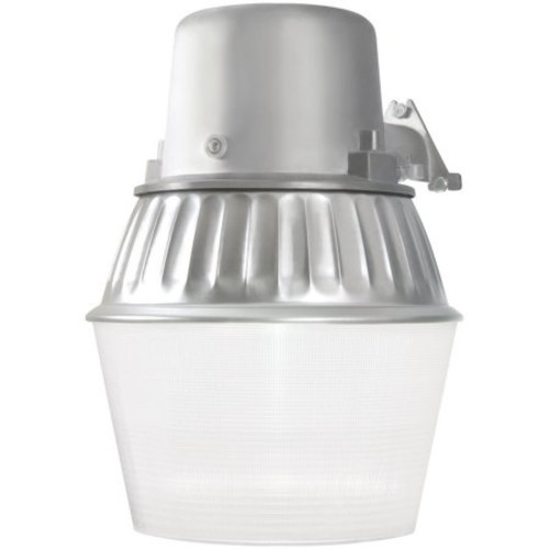 All-Pro 65-Watt Metallic Outdoor Fluorescent Security Wall and Area Light with Dusk to Dawn Photocell Sensor