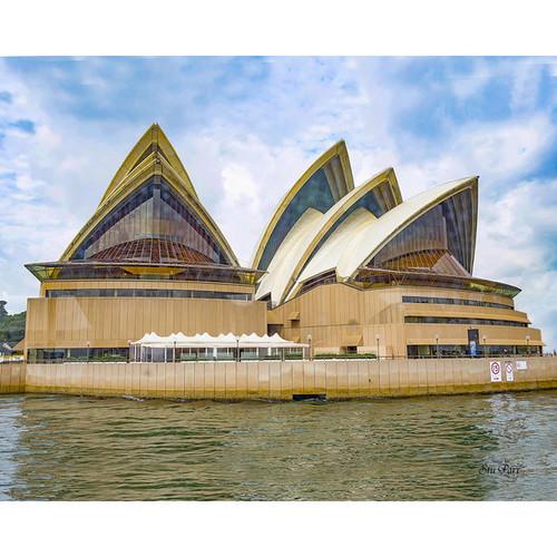 Stewart Parr 'Sydney Australia Opera House' Multicolored Unframed Photo Print