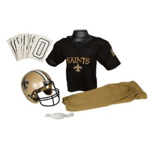 Franklin Sports 15700F08P1Z NFL SAINTS Small Uniform Set