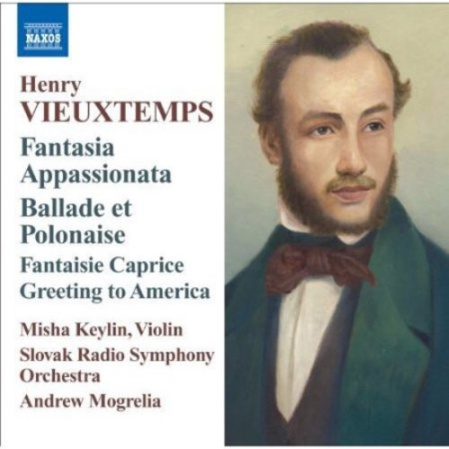Vieuxtemps: Music for Violin & Orchestra [CD]