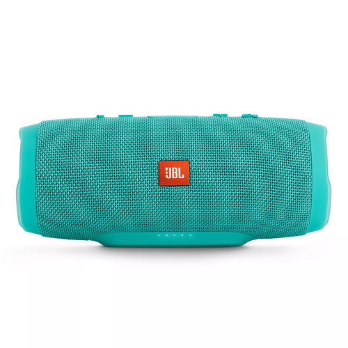 JBL - Charge 3 Portable Bluetooth Speaker - Teal