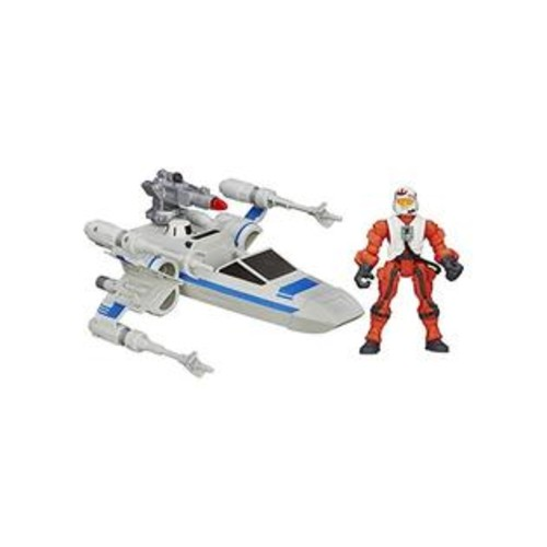 Star Wars Hero Mashers Episode Vii Resistance X-Wing And Resistance Pilot