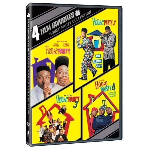 House Party Collection: 4 Film Favorites [2 Discs] [DVD]