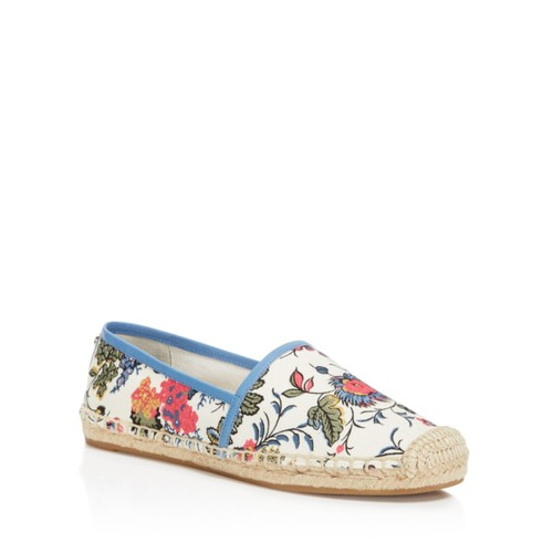 TORY BURCH Amalia Floral Print Espadrille Flats