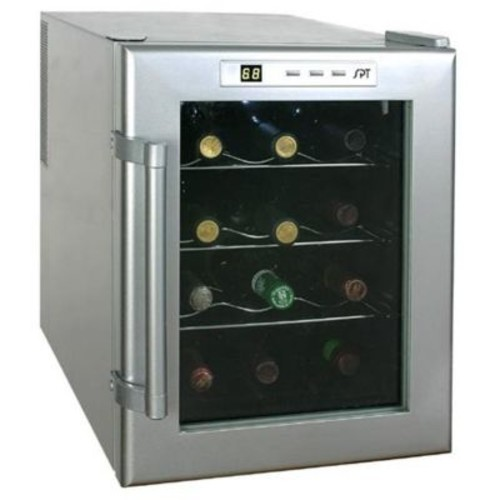 Sunpentown 12-Bottle Wine & Beverage Cooler semiconductor(SUPN022)