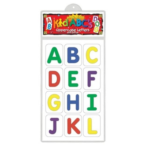 Barker Creek - Office Products Learning Magnets, Pattern Blocks Uppercase Letters (LM-1120)