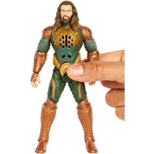 DC Comics DC Justice League Talking Heroes Aquaman Figure, 6