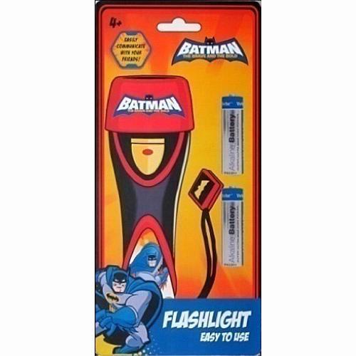 Batman Flashlight - Black/Red