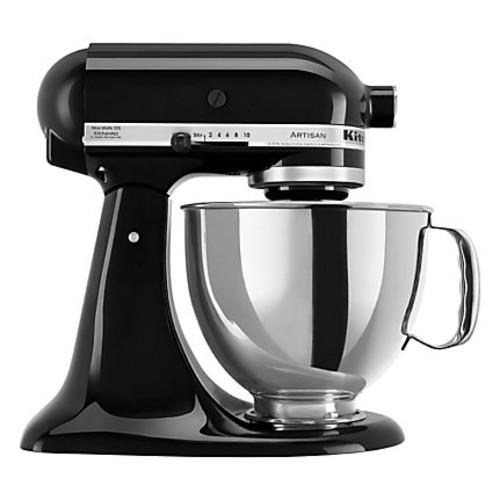 KitchenAid Artisan Series 5 qt Tilt-Head Stand Mixer, Onyx Black