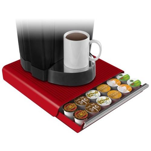 Mind Reader - Coffee Pod Drawer - Red