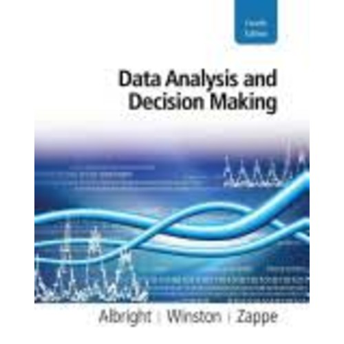 Data Analysis and Decision Making [Book]