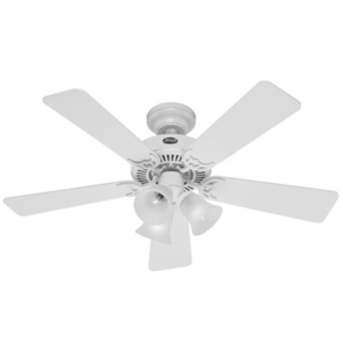 Hunter Fan 42 Inch Southern Breeze Ceiling Fan White