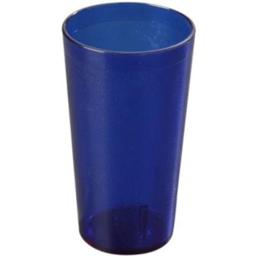 Carlisle 5212-47, 12 oz Stackable SAN Tumbler, Royal Blue