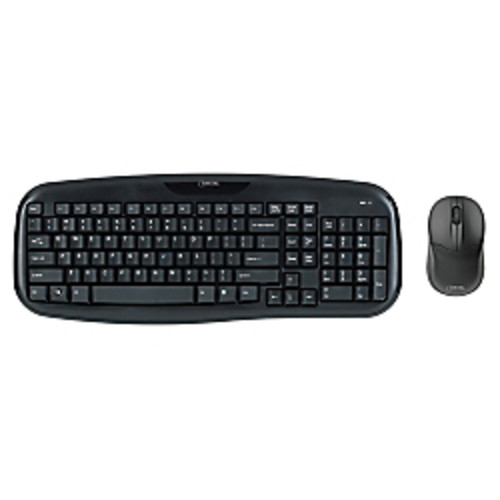 Micro Innovations 4270100 Wireless Classic Keyboard with Optical Mouse