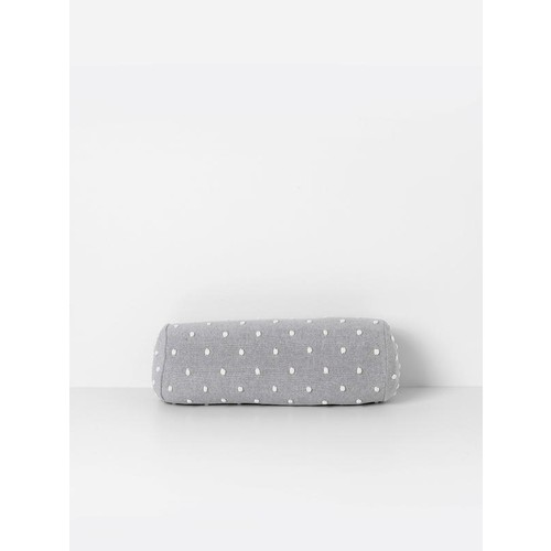 Popcorn Bolster Cushion in Grey design by Ferm Living
