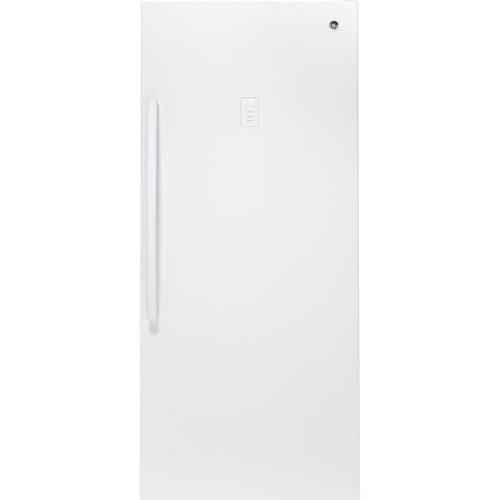 GE 21.0 cu. ft. Frost-Free Upright Freezer in White