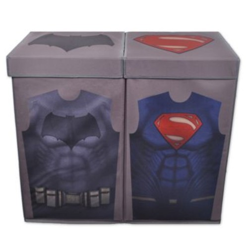 Batman vs. Superman Uniform Double Laundry Hamper