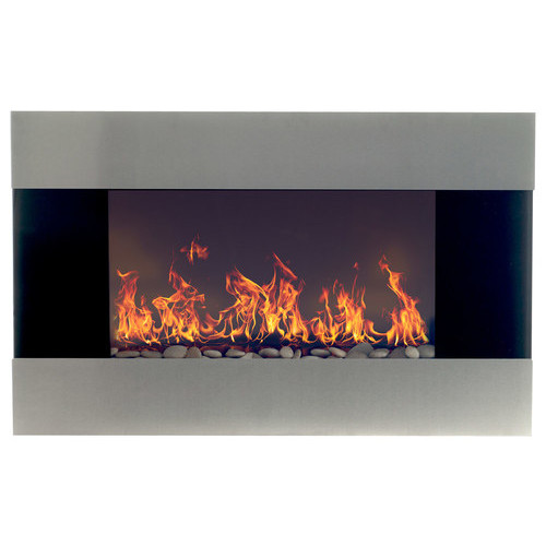 Northwest - Electric Fireplace - Black