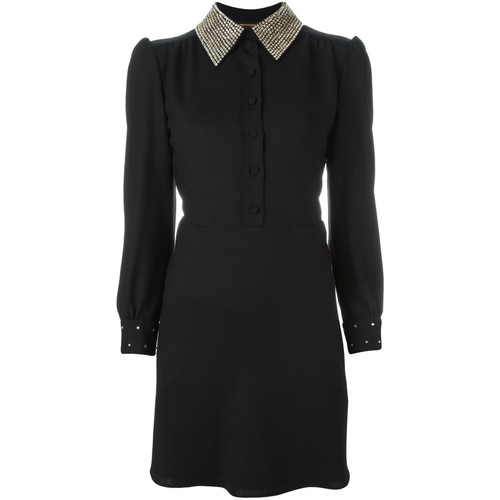 SAINT LAURENT Schoolgirl Mini Dress