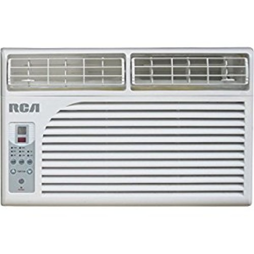 RCA RACE6001 6,000 BTU 115V Window-Mounted Air Conditioner with Remote Control