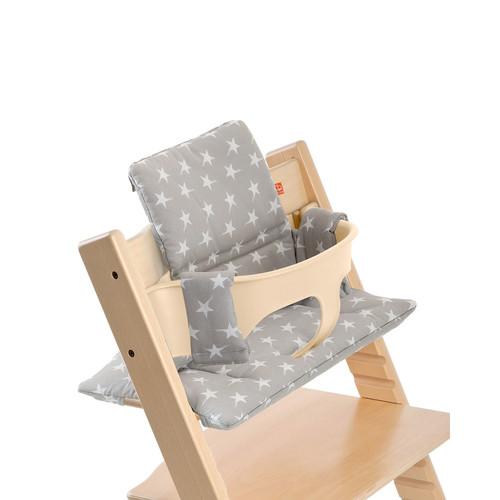 Tripp Trapp Seat Cushion, Gray Star