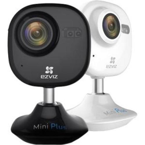 EZVIZ Mini Plus HD 1080p Wi-Fi Video Security Camera, 16GB MicroSD, W