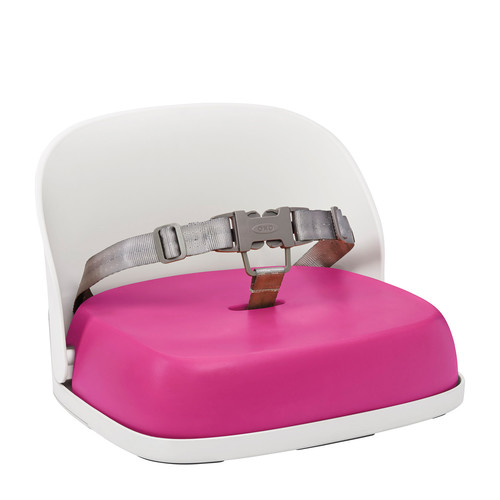 Oxo Tot Perch Booster Seat with Straps - Pink