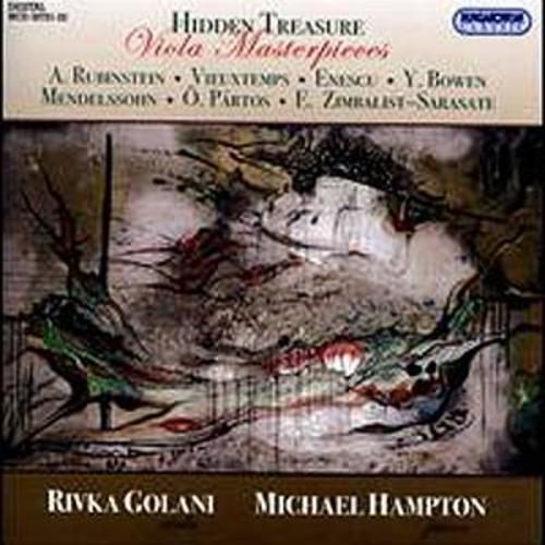 Hidden Treasure-Viola Ma Rubinstein / Vieuxtemps
