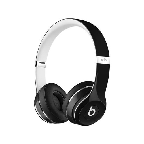 Beats by Dr. Dre Solo2 Luxe Edition On-Ear Foldable Stereo Headphones - Black