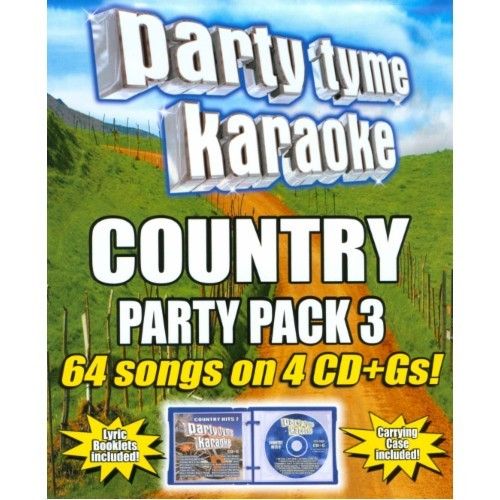 Party Tyme Karaoke: Country Party Pack, Vol. 3 [CD + G]
