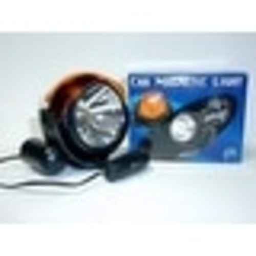 Drill Doctor 7406 Emergency Car Magnetic Light With Cigarette Plug