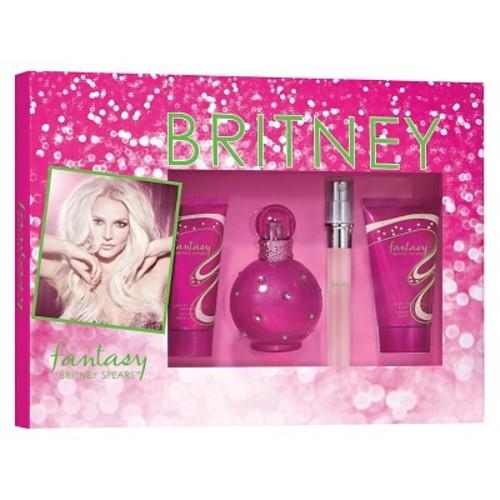 Fantasy by Britney Spears Women's Fragrance Gift Set - 4pc