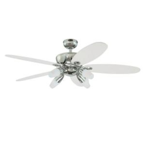 Westinghouse Panorama 52 in. Chrome Ceiling Fan