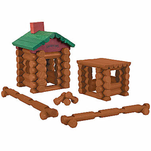 LINCOLN LOGS - 111 All-Wood Pieces