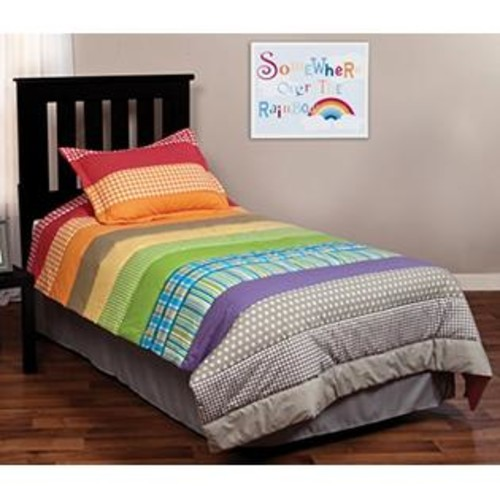 Trend Lab Rainbow Connection Bedding Set, Twin